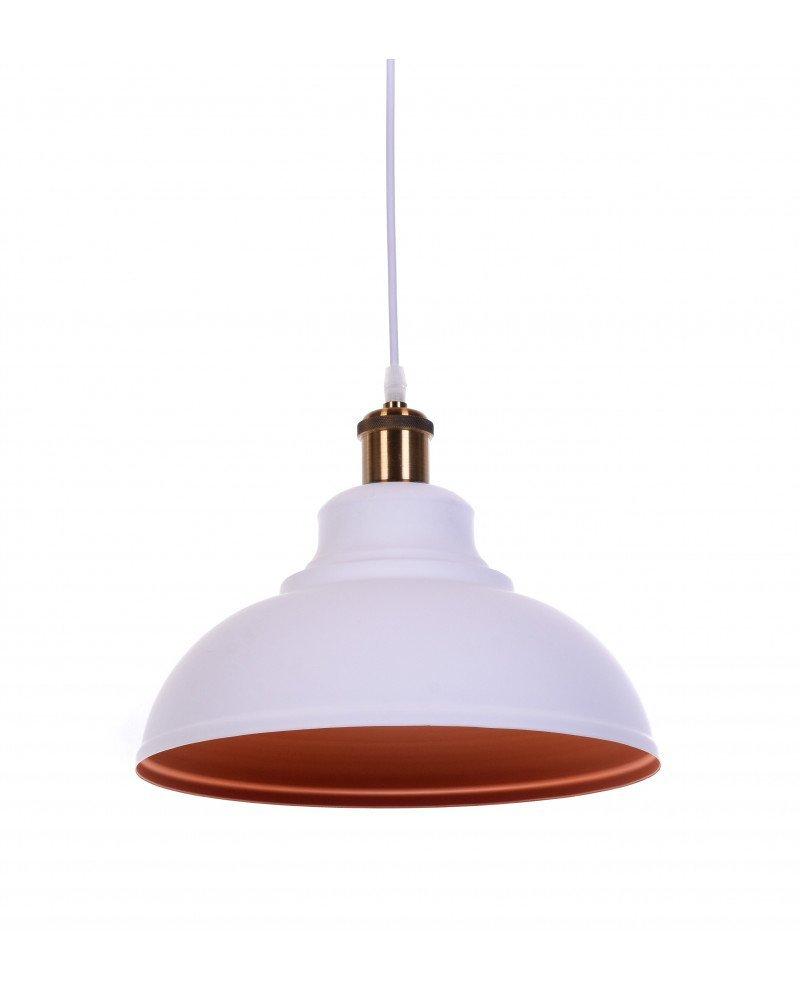 lampadario a sospensione boggi bianco industrial chic 1 test