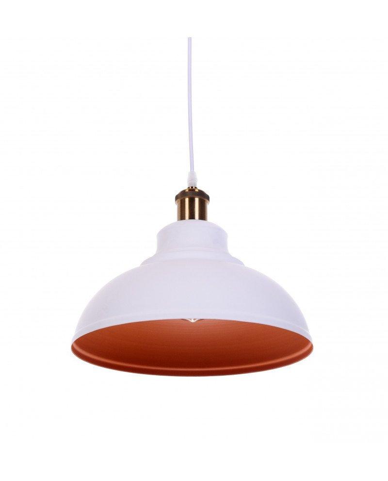 lampadario a sospensione boggi bianco industrial chic 3 test