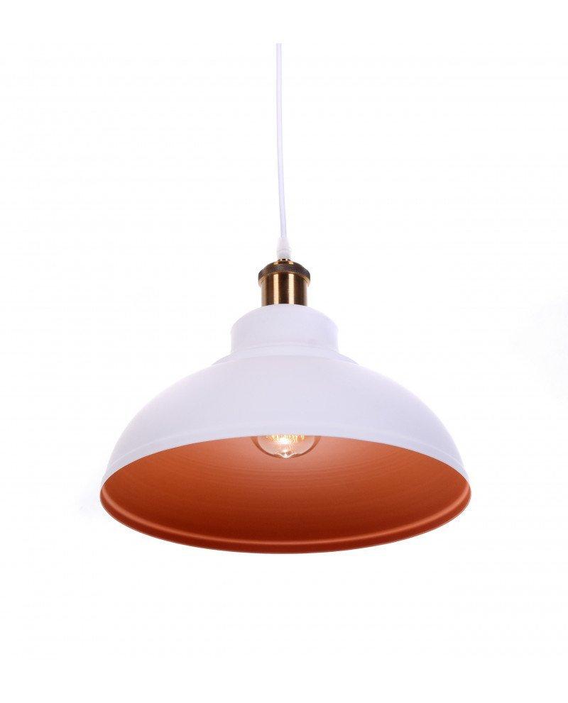 lampadario a sospensione boggi bianco industrial chic 4 test