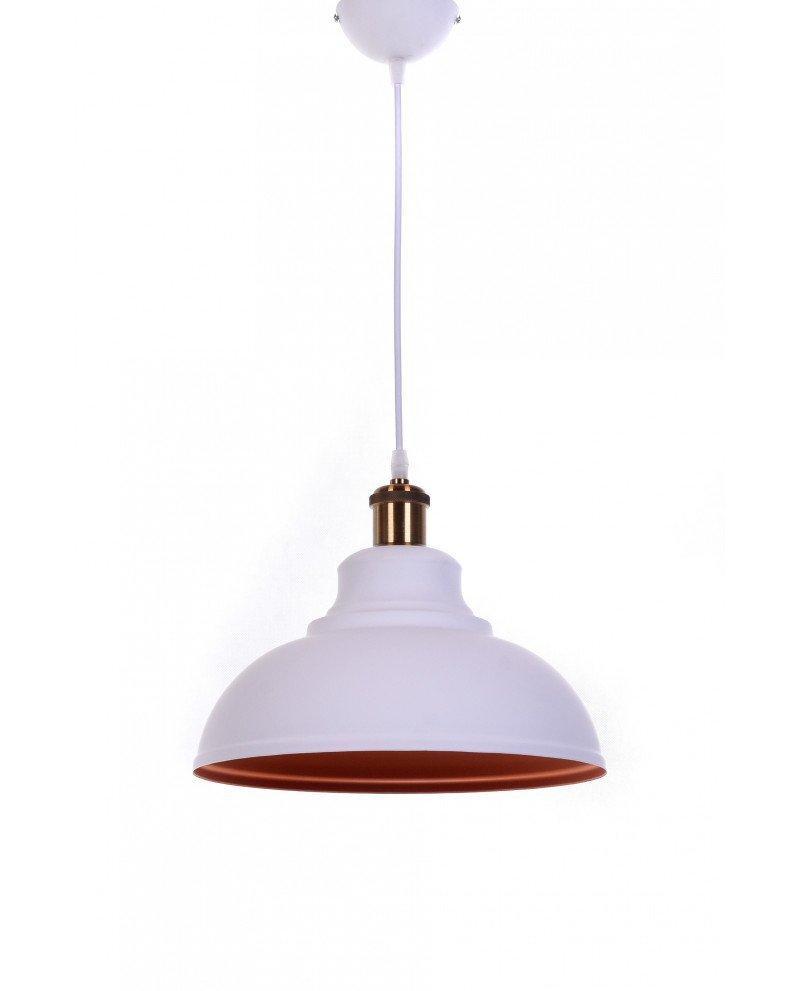 lampadario a sospensione boggi bianco industrial chic 5 test