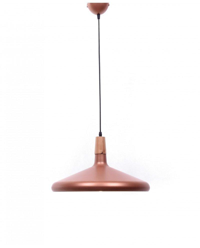 lampadario a sospensione design moderno per uffici rame 2 test