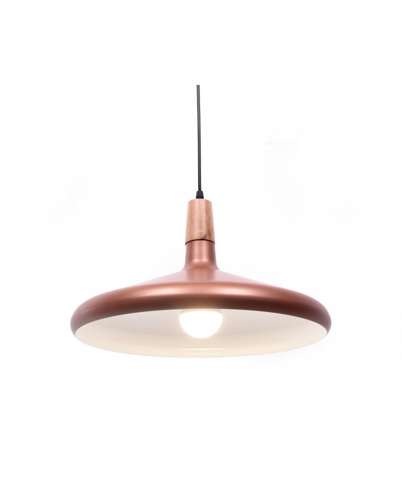 lampadario a sospensione design moderno per uffici rame 3 test