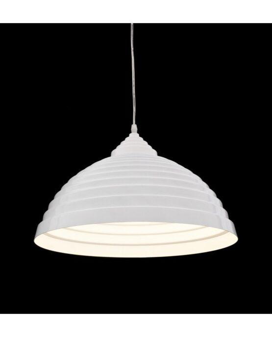 lampada da soffitto paralume bianco grande