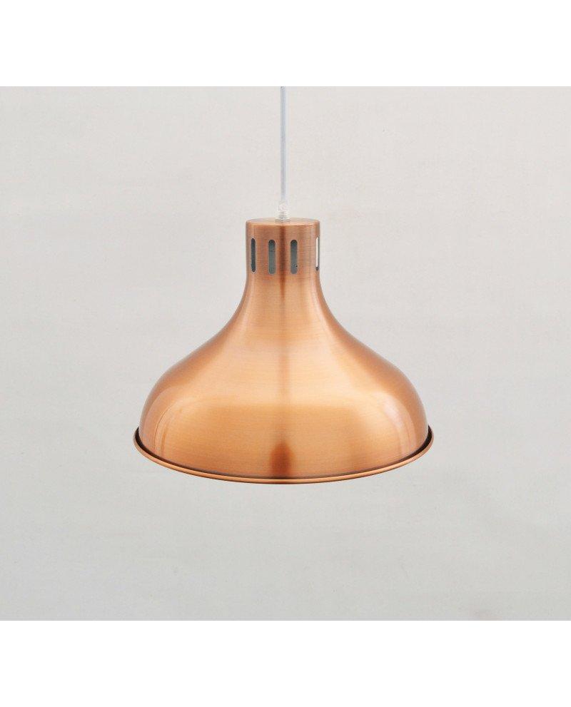 lampadario in rame ultracontemporaneo illuminazione deisgn 3 test