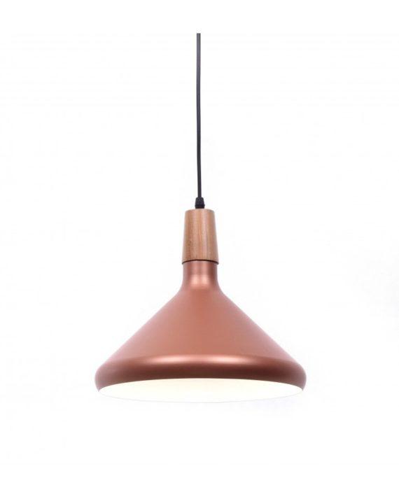 lampadario per ristoranti oro rosa design moderno