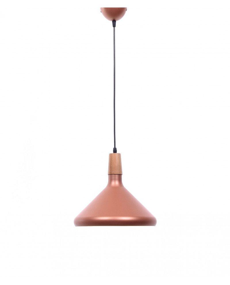 lampadario per ristoranti roro rosa design moderno 3 test