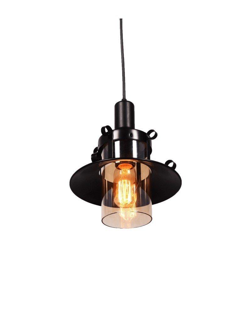 lampadario stile marina lanterna nera 3 test