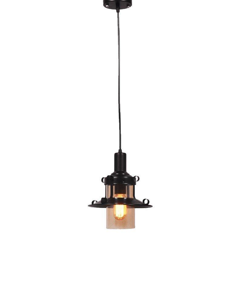 lampadario stile marina lanterna nera 4 test