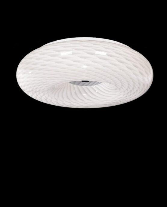 Plafoniera moderna in vetro da soffitto Eviante D50
