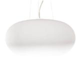 lampade bianche a soffitto in stile moderno