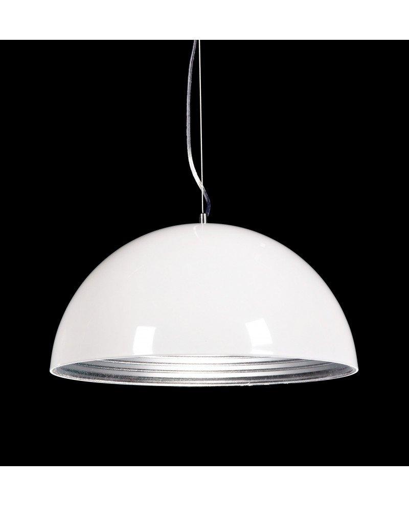 lampada a sospensione design colore bianco lucido 1 test