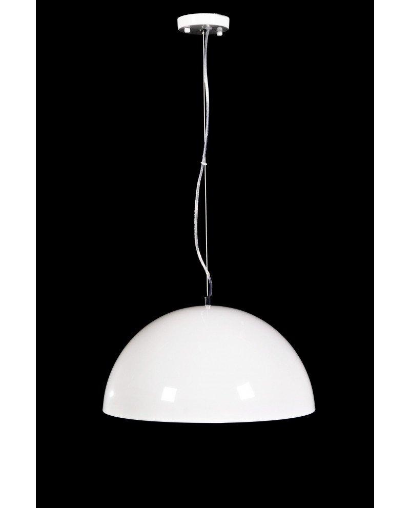 lampada a sospensione design colore bianco lucido 5 test