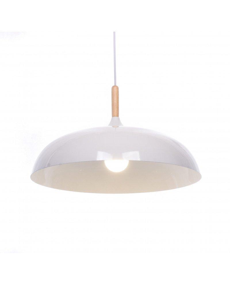 lampada a sospensione in stile colore bianco per cucina test
