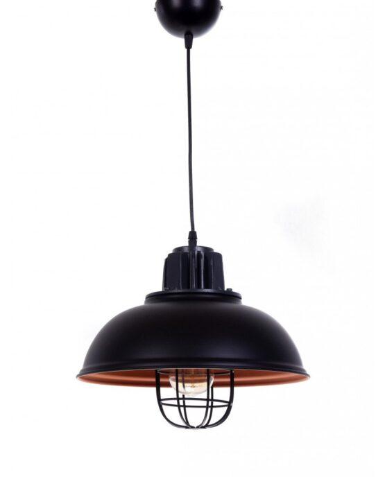 lampada a sospensione vintage in metallo vecchia marina