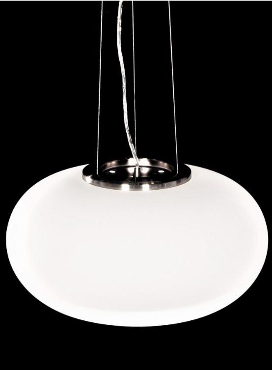 lampada bianca moderna a soffitto di design