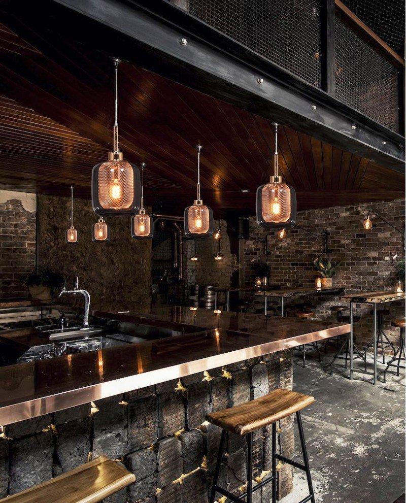 lampada da soffitto di design forma barattolo oro rosa 1 test