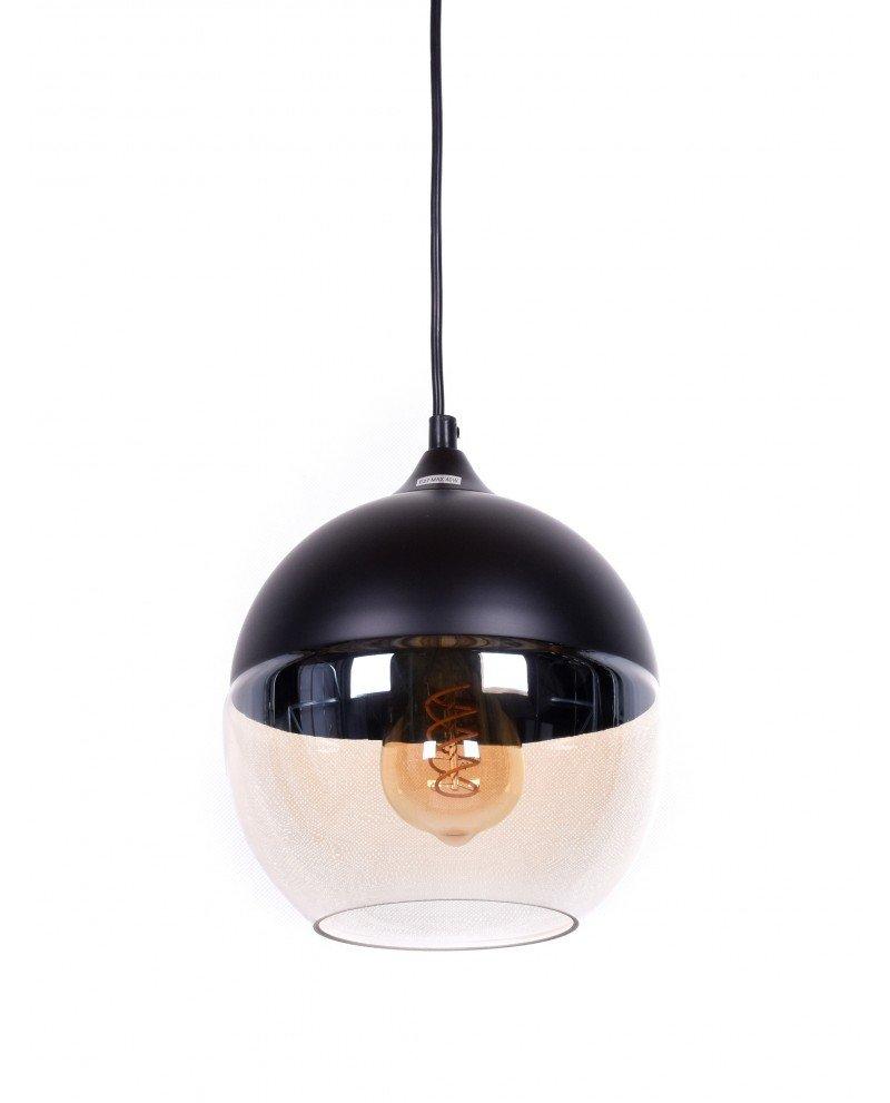 lampada da soffitto in stile industriale metallo nero 66 test