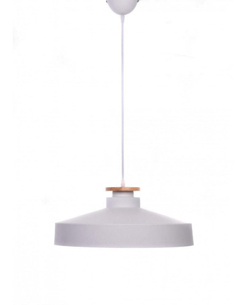 lampada da soffitto scandinava industriale metallo bianco 3 test