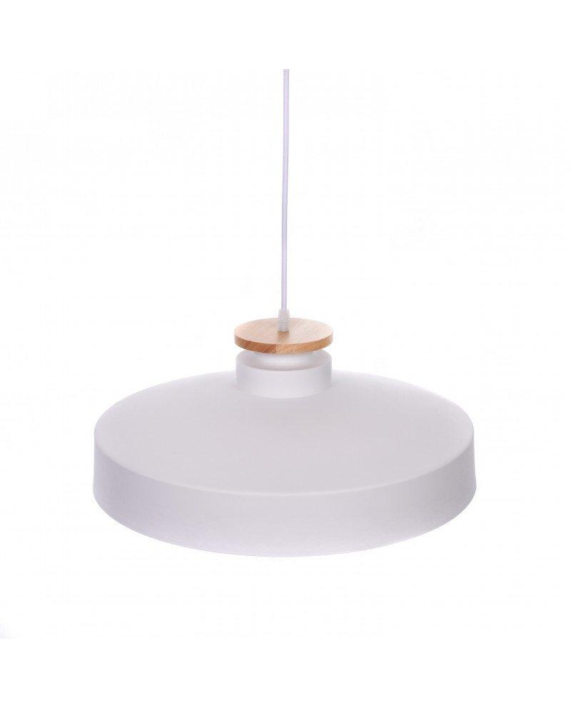 lampada da soffitto scandinava industriale metallo bianco 4 test