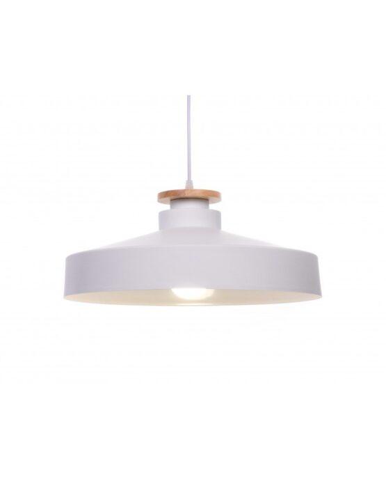 lampada da soffitto scandinava industriale metallo bianco