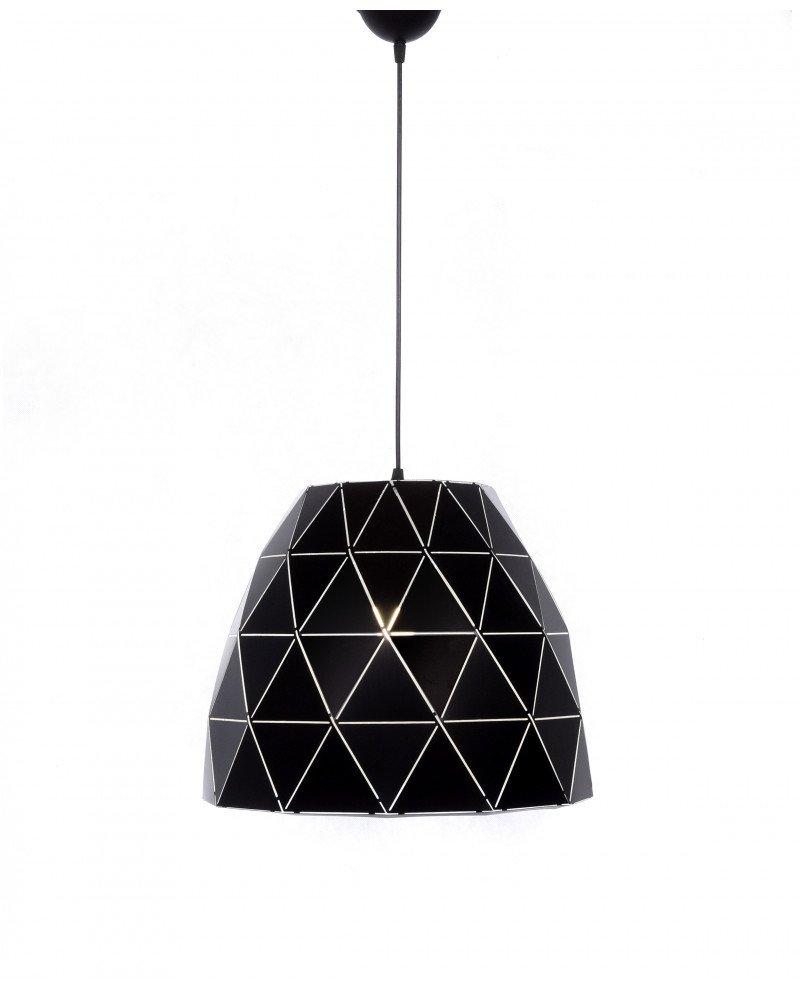 lampada design moderno contemporaneo dukka nera 12 test