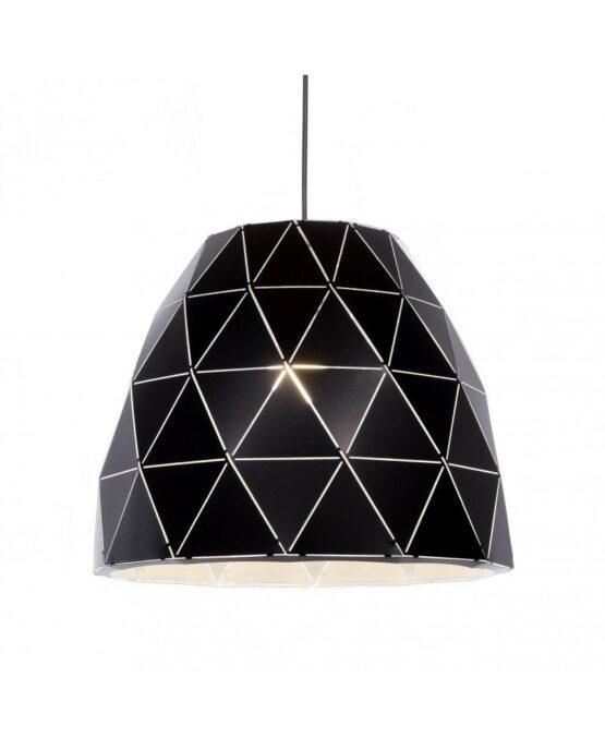 Prospettiva laterale di Lampada da soffitto a sospensione con cavo dal design moderno e contemporaneo