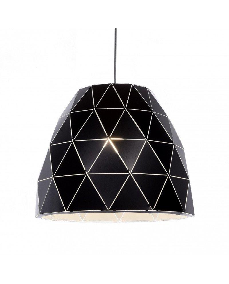lampada design moderno contemporaneo dukka nera 1212 test