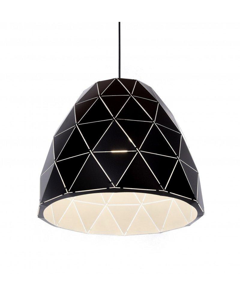 lampada design moderno contemporaneo dukka nera 12121 test