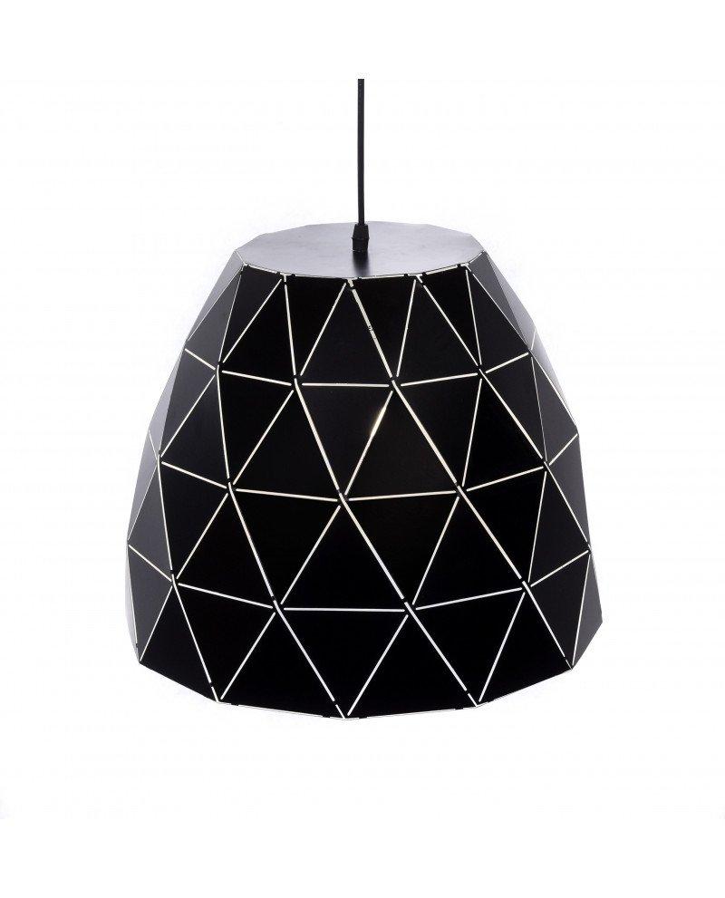 lampada design moderno contemporaneo dukka nera 12124 test