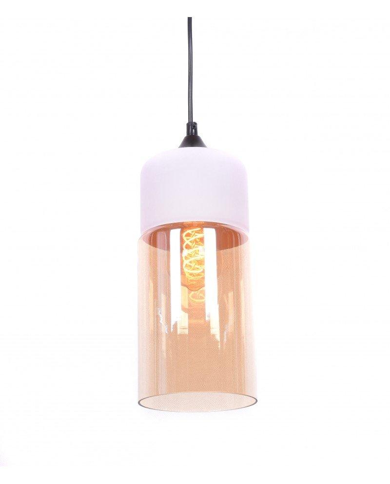 lampada industriale per illuminazione appartamento Zenia bianca 1 test