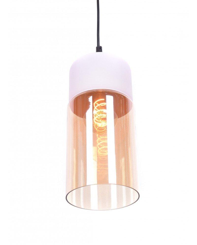 lampada industriale per illuminazione appartamento Zenia bianca 1212 test