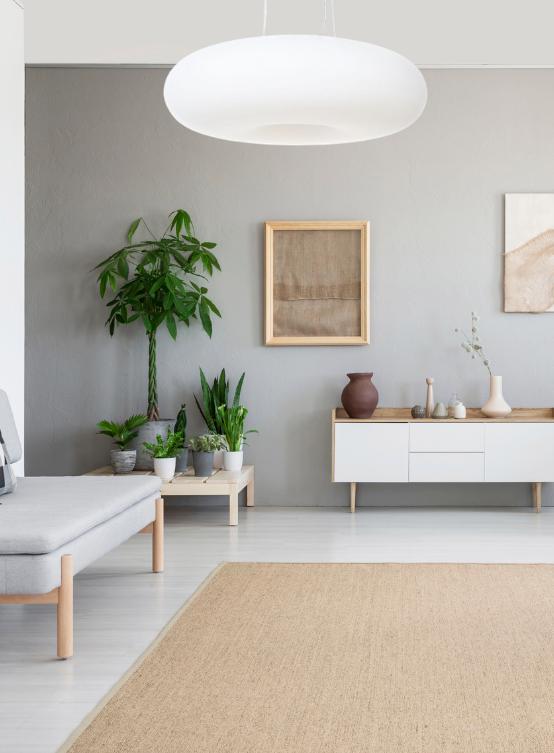 lampada soffitto bianca regolabile per salotto