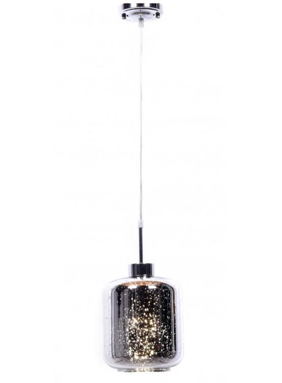 lampada soffitto design tipo barattolo vetro