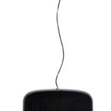 lampada soffitto minimal nera