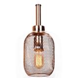 lampada a sospensione oro rosa bessa