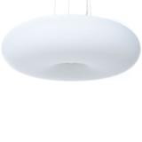 lampada a sospensione bianca da soffitto