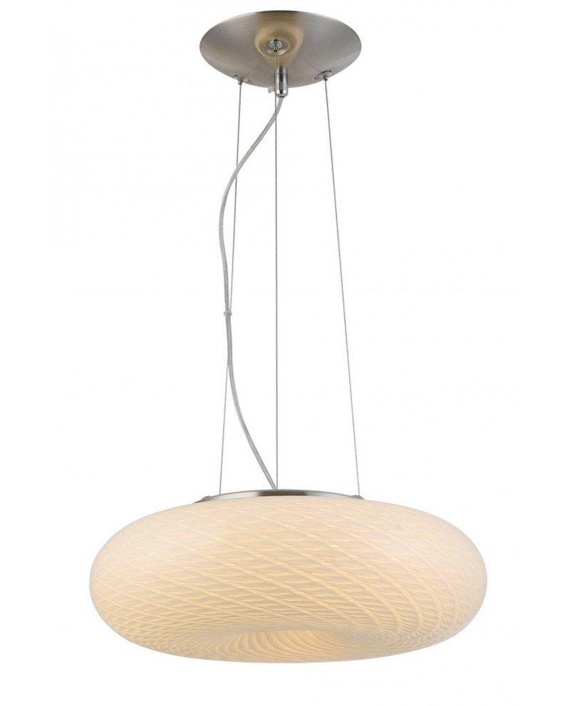 lampada sospensione vetro satinato 3 luci Eviante D38 123 test