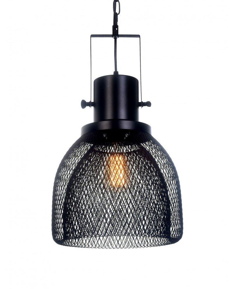lampadario a sospensione con rete metallica design 12 test