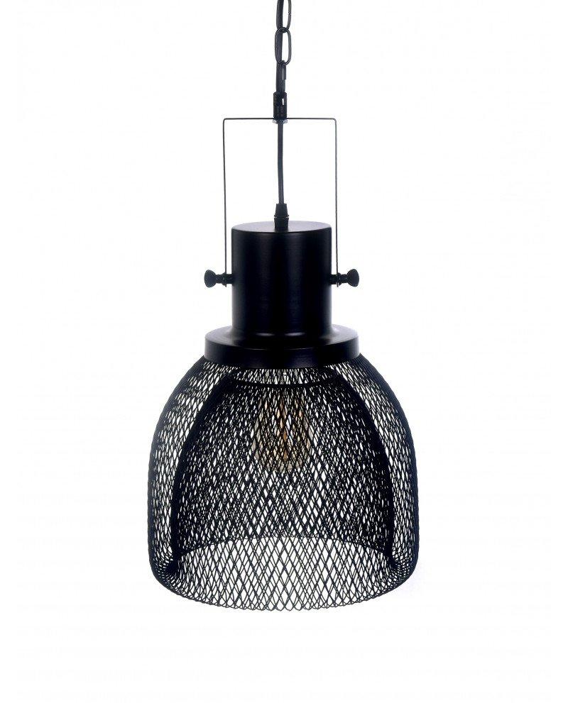 lampadario a sospensione con rete metallica design 121 test