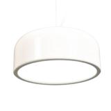 lampadario bianco moderno plastica