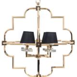lampadario classico moderno oro 4 luci