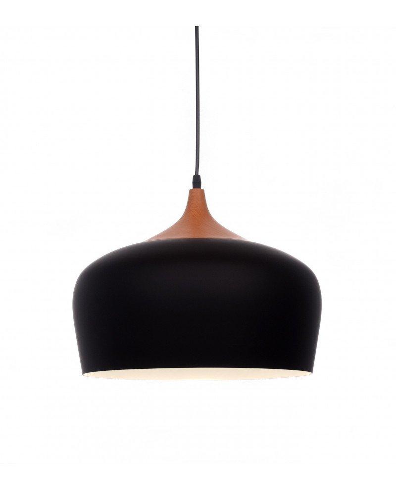 lampadario da soffitto scandinavo design esclusivo minimal nero test