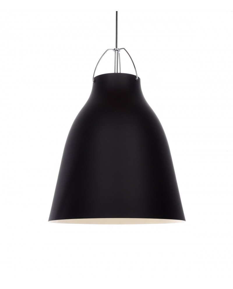 lampadario in stile scandinavo vintage rayo nero 4 test