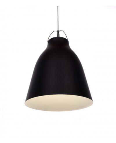 lampadario in stile scandinavo vintage rayo nero