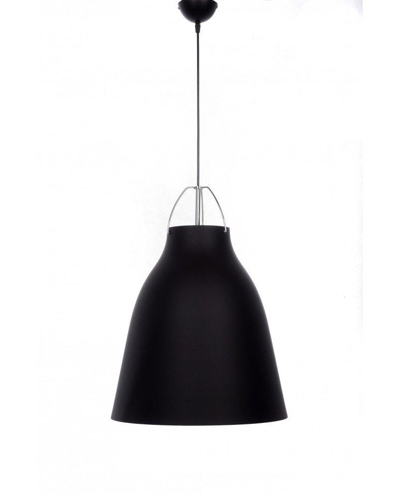 lampadario in stile scandinavo vintage rayo nero 6 test