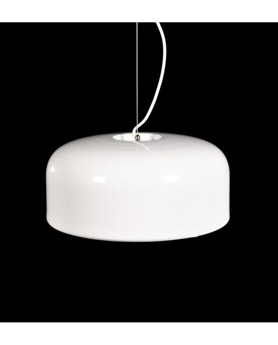lampadario italiano moderno bianco in plastica 1