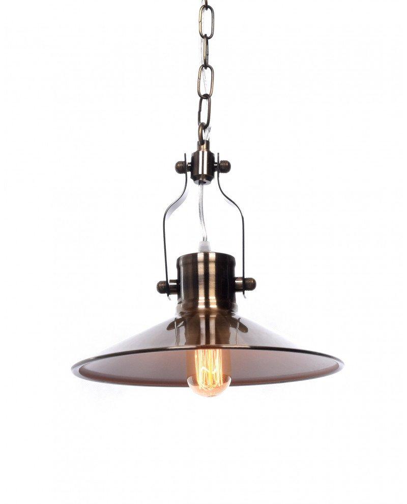 lampadario vintage industriale in ottone per appartamenti 121 test