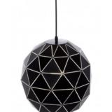 lampade geometriche a soffitto forma circolare