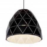 lampade sospensione nere metallo moderne