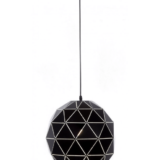 lampade a sospensione a forma di palla geometrica